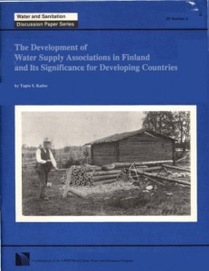 Development of Water Supply Associations in Finland