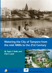 Watering the city of Tampere
