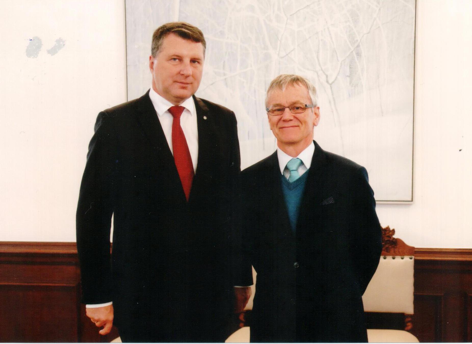 The current President of Latvia Raimonds Vejonis: biography, family, career 57